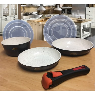 ECO-032 Set 3 pans with...