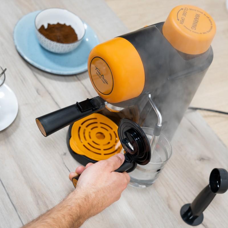 Cafetera Espresso Forte Classic 5 Bar y Vaporizador ECO DE