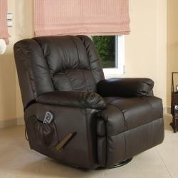 ECO-8615 Leather Swivel...